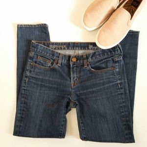 J. Crew Toothpick ankle jeans (307)